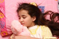 Os sonos da criança Imagens de Stock Royalty Free