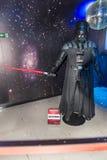 Os Star Wars team a figura de cera no museu da cera Foto de Stock Royalty Free