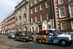 Os táxis de Londres Fotos de Stock Royalty Free