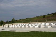 Os túmulos da família de Jashari, Prekaz, Kosovo Fotos de Stock Royalty Free