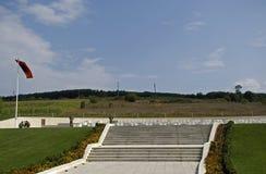 Os túmulos da família de Jashari, Prekaz, Kosovo Imagem de Stock Royalty Free