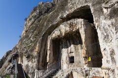 Os túmulos da rocha dos reis do Pontic Fotografia de Stock Royalty Free