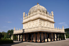 Os túmulos da sultão de Tipu & o Hyder Ali - o Gumbaz imagem de stock