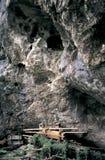 Os túmulos de Hmong na caverna Fotos de Stock Royalty Free