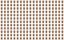 Os tambores de madeira do fundo multam o grupo de teste padrão da série infinita Imagem de Stock Royalty Free