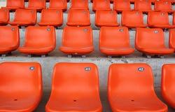 Os tamboretes da laranja Foto de Stock Royalty Free