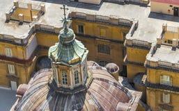 Os telhados de Roma fotos de stock royalty free
