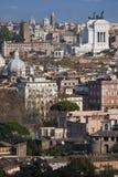Os telhados de Roma, Itália imagens de stock royalty free