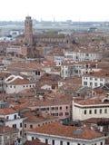 Os telhados de Veneza Foto de Stock Royalty Free