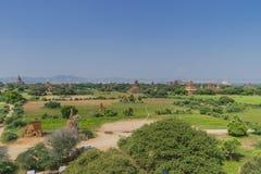 Os templos de Bagan Imagens de Stock