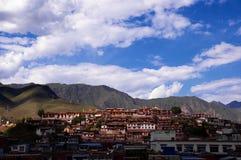 Os templos grandes sob o céu azul Imagem de Stock Royalty Free