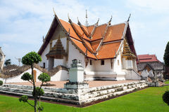 Os templos tailandeses do norte Fotos de Stock Royalty Free