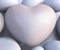 Os termas apedrejam meios Valentine Day And Calmness ilustração stock