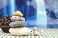 Os termas apedrejam o zen Fotografia de Stock Royalty Free