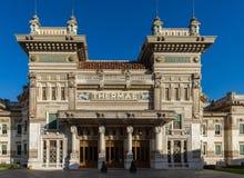 Os termas em Salsomaggiore Terme imagens de stock royalty free