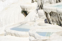 Os terraços de Pamukkale Imagem de Stock Royalty Free