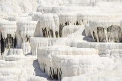 Os terraços de Pamukkale Fotografia de Stock