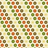 Os testes padrões da pintura Ilustração Stock