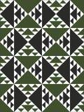 Os testes padrões de repetição geométricos Fotos de Stock Royalty Free