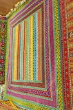 Os testes padrões dos tapetes turcos Foto de Stock
