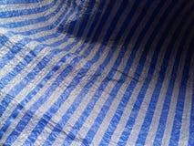 Os testes padrões e as texturas da lona são brancos, imagem de stock royalty free