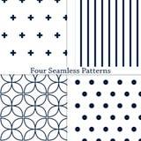Os testes padrões geométricos Foto de Stock Royalty Free