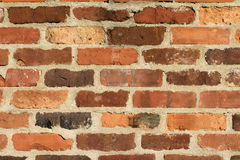 Os tijolos fecham-se acima Imagens de Stock Royalty Free