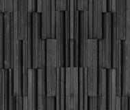 Os tijolos pretos slate o fundo da textura, textura da parede de pedra da ardósia Fotos de Stock