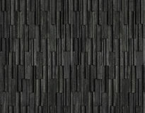 Os tijolos pretos slate o fundo da textura, textura da parede de pedra da ardósia Imagem de Stock Royalty Free