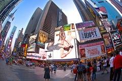 Os Times Square são um símbolo de New York Fotografia de Stock