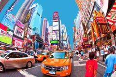 Os Times Square são um símbolo de novo Imagens de Stock Royalty Free