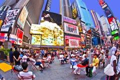 Os Times Square são um símbolo de novo Foto de Stock