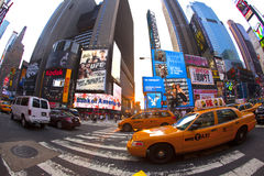 Os Times Square são um símbolo de novo Imagem de Stock Royalty Free
