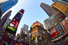 Os Times Square são um símbolo de novo Imagem de Stock