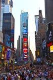 Os Times Square são um símbolo de novo Fotografia de Stock Royalty Free