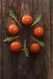 Os tomates de cereja Foto de Stock Royalty Free