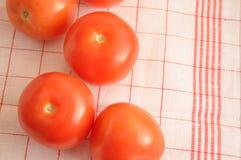 Os tomates vermelhos Foto de Stock