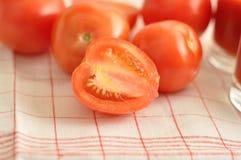 Os tomates vermelhos Imagem de Stock