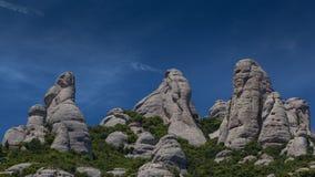 Os três gigantes de pedra fotos de stock