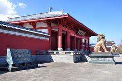 Entrada aos três pagodes Fotos de Stock Royalty Free