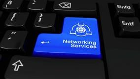 367 Os trabalhos em rede prestam serviços de manutenção em volta do movimento no botão do teclado de computador vídeos de arquivo