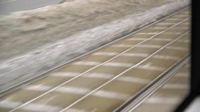 Os trilhos do bonde ao pavimento filme