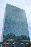 Os United Nations que constroem em Manhattan imagens de stock royalty free