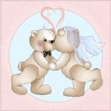 Os ursos do casamento têm Foto de Stock