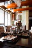 Os utensílios de mesa da elegância Imagem de Stock Royalty Free