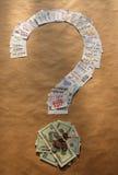 Como salvar o dinheiro Foto de Stock Royalty Free