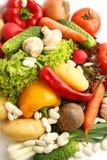 Os vegetais fecham-se - acima Fotografia de Stock