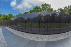 Os veteranos memoráveis no Washington DC, EUA de Vietname Fotografia de Stock Royalty Free