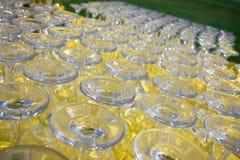 Os vidros Imagem de Stock
