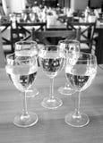 Os vidros da água Imagem de Stock